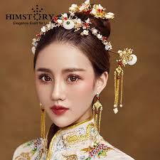 traditional hair accessories himstory traditional national wedding hair accessories