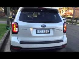 subaru forester tail light bulb colin shread full led tail ls 2014 subaru forester sj youtube