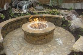 Patio Fire Pit Ideas Fire Pit Awesome Outdoor Gas Fire Pit Designs Garden Outdoor Gas