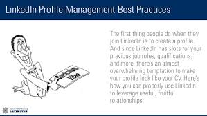 how to create best linkedin profile linkedin profile management best practices