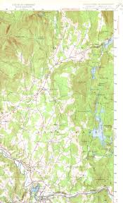 State Of Vermont Map by Hyde Park Vt Quadrangle
