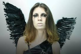 how to make wings for halloween 21 simple u0026 pretty look angel halloween makeup ideas