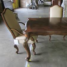 drexel heritage furniture table for royals and or set of 6 parlor