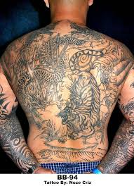 tiger and dragon tattoo picture