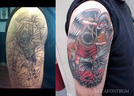 roma tattoos luca font bergamo custom tattooing