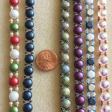 bead bracelet kit images Sweet candy new beaded bracelet kit with 2 hole glass beads jpg