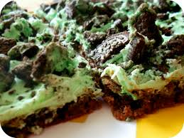 mint oreo cookie brownie bars recipe u2013 six sisters u0027 stuff