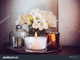Home Decor Glass Hearthstone Diagonal Cut Glass Candle Holders Modern Candleholders