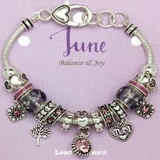 bracelet beads pandora style images Alexandrite june birthstone charm bracelet murano beads pandora jpg