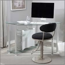 Glass Top Computer Desks For Home Best 25 Black Glass Computer Desk Ideas On Pinterest For Small