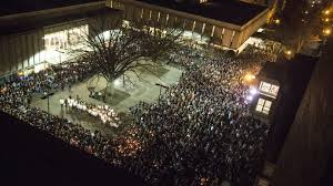 university lighting chapel hill services prayers for 3 young adults shot dead near university of