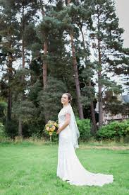 scottish wedding dresses an eliza howell gown for a relaxed and colourful outdoor