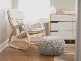 White Rocking Chairs For Nursery Modern Rocking Chair For Nursery Homesfeed Modern White
