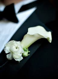 Groom S Boutonniere Silk Flower Grooms Boutonniere In Hand By Coco Chic Bouquet On Zibbet