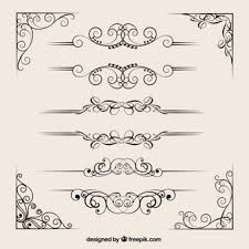 ornamental border vectors photos and psd files free