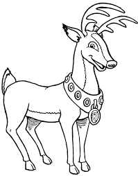 printable deer pictures kids coloring
