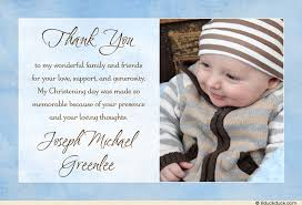 blessed baby photo thank you card christening baptism