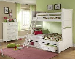 Twin Bunk Bed With Desk And Drawers Bedroom Full Size Loft Bed Twin Over Full Bunk With Desk White