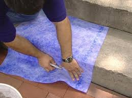 How To Paint Outdoor Concrete Patio How To Give A Tile Facelift To An Ordinary Concrete Porch How