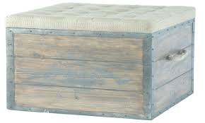 Wood Storage Ottoman Storage Ottoman Wood Square Storage Crate Rustic Wood Crate