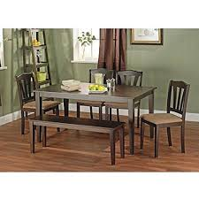 Dining Room Table With Chairs And Bench Dining Tables Set Bench Amazon Com