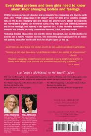 girls parents guide what u0027s happening to my body book for girls revised edition