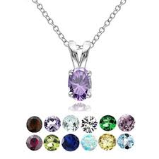 necklace with birthstones birthstone jewelry shop the best deals for nov 2017 overstock