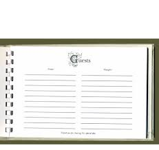 wedding guest book pages donna wedding guest book vintage wedding guest book