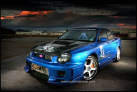 subaru impreza hatchback modified subaru wrx sti www customstreeter com