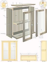 built in medicine cabinet plans best home furniture decoration