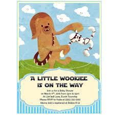 Star Wars Room Decor Etsy by Star Wars Baby Shower Invitation Chewbacca Boy Baby Shower