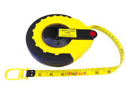 perfect surveyor u0027s tape measure 100 ft 30m amazon com