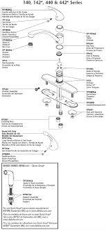 delta kitchen faucet parts diagram plumbingwarehouse delta kitchen faucet parts for models 140