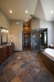 ideas for tiling a bathroom best 25 slate tile bathrooms ideas on tile floor