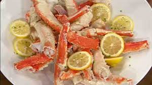 video drunken alaskan king crab legs martha stewart