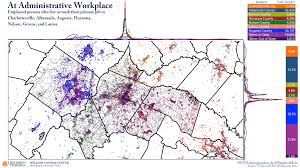 Map Of Virginia Tech by Statchat From The Demographics Research Group At Uva