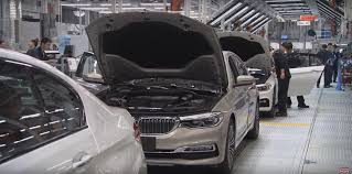 bmw dealership inside video here u0027s how the g30 bmw 5 series is assembled in china