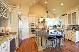 Lighting Idea For Kitchen Kitchen Lighting Ideas Vaulted Ceiling Kitchen Design Vaulted