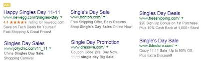 amazon and new egg black friday and cyber monday singles day black friday and cyber monday in u s paid search