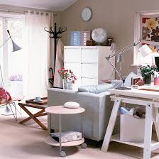 office in the living room desk in living room for new trend small home office design ideas