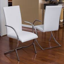 recommended white leather dining room chairs real property alpha