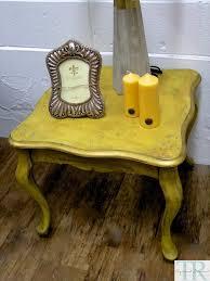 elda light mustard rustic side table u2013 taylored revival