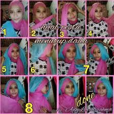 tutorial jilbab dua jilbab tutorial hijab segi empat dua warna untuk wisuda kumpulan hijab