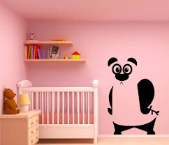 high quality wall silhouettes promotion shop for high quality free shipping funny panda silhouette wall stickers home children bedroom sweet decor vinyl wall poster cute panda bear decalq 76