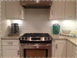 kitchen cushty blue glass subway tile backsplash pro kitchen ideas