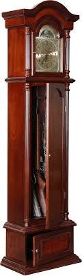 american classics gun cabinet american furniture classics the gunfather clock 6 gun cabinet