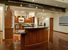 kitchen curved kitchen track lighting ideas with curved kitchen