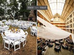 outdoor wedding reception venues minnesota this or that will you host an indoor or outdoor wedding