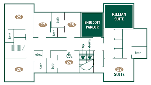 second floor plans floor plans mit endicott house