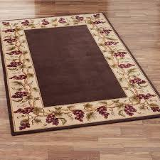 Red Washable Rug Kitchen Design Adorable Grape Kitchen Rugs Fruit Pattern Rugs